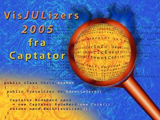 Captators Adventskalender 2005 - fire visualizers til Visual Studio 2005